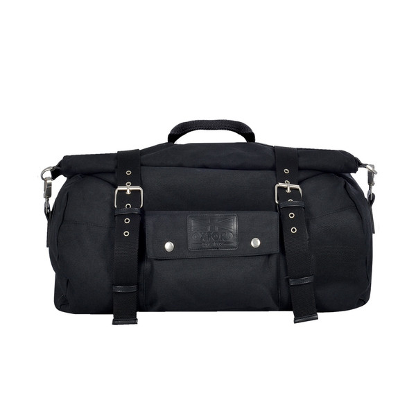 Oxford Heritage Roll Bag 20L - Black