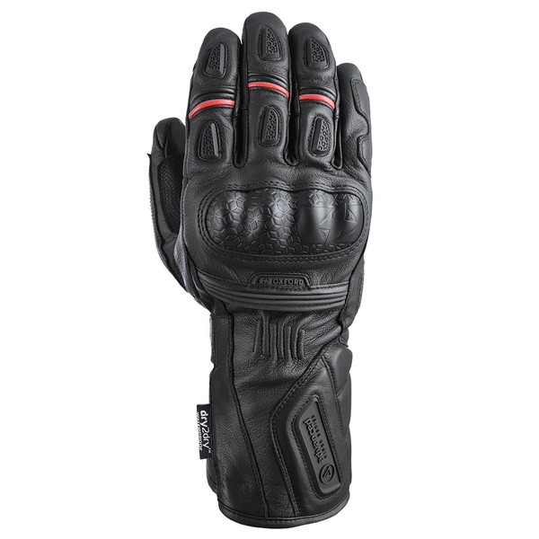 Oxford Mondial Long Glove - Tech Black