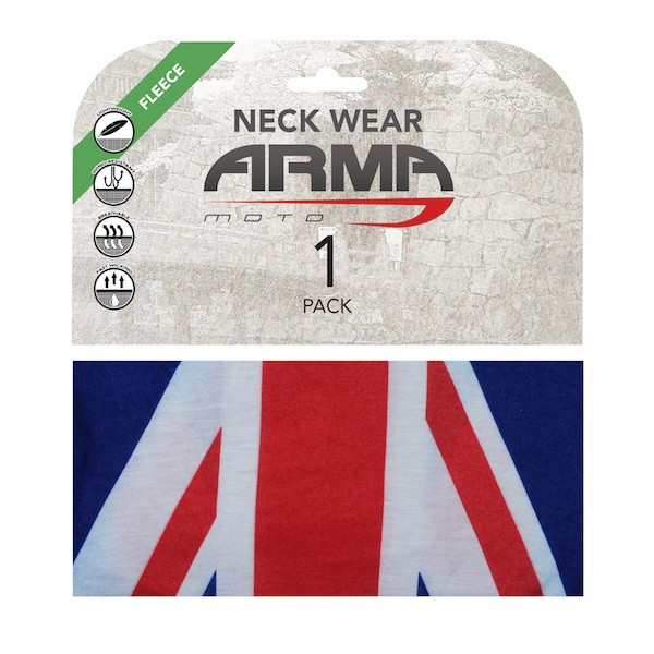 Armr Winter Fleece Face Mask Neck Tube - Union Jack