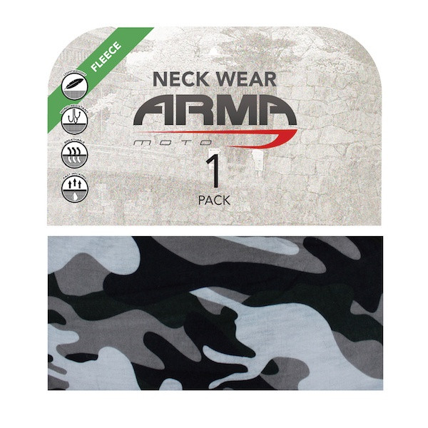Armr Winter Fleece Face Mask Neck Tube - Camo