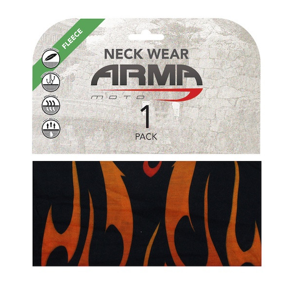 Armr Winter Fleece Face Mask Neck Tube - Flame