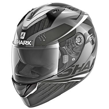 Shark Ridill StratomFull Face Helmet AKW - Anthracite / Black