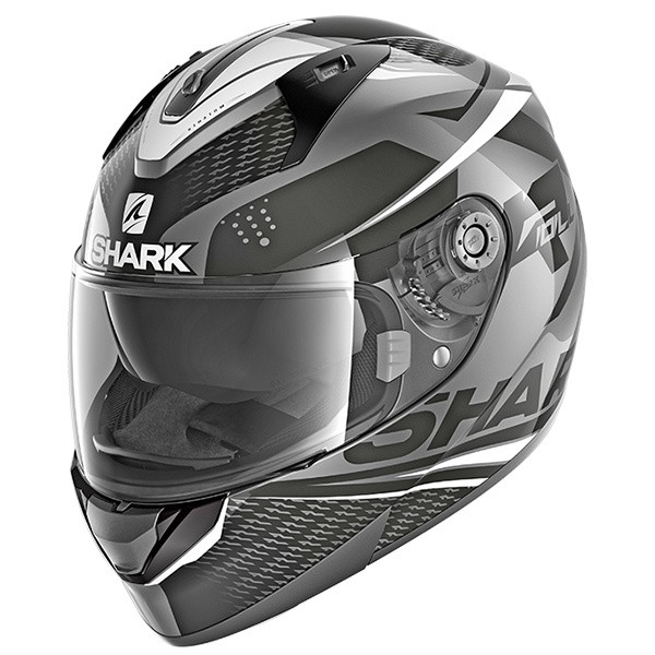 Shark Ridill StratomFull Face Helmet AKW - Anthracite / Black