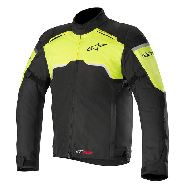 Alpinestars Hyper Drystar Jacket - Black / Fluo Yellow