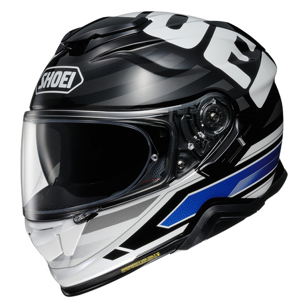 Shoei GT Air 2 Insignia Full Face Helmet TC2 - Black / White / Blue