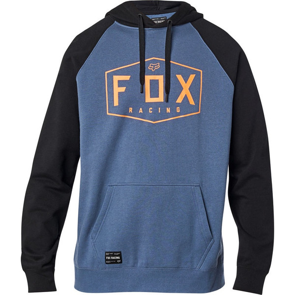Fox Crest Pullover Fleece - Blue Steel
