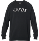 Fox Apex Crew Fleece - Black / White