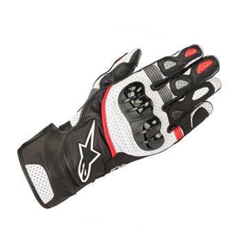 Alpinestars SP-2 V2 Gloves - Black / White / Red