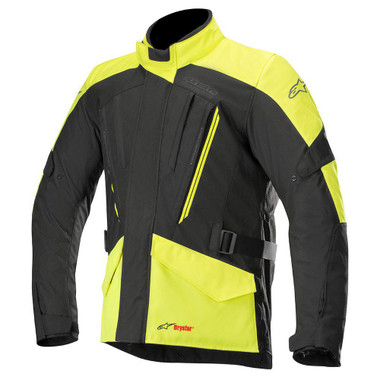 Alpinestars Volcano Drystar Jacket - Black / Yellow Fluo