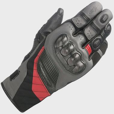 Alpinestars Belize Drystar Glove - Black / Anthracite / Red