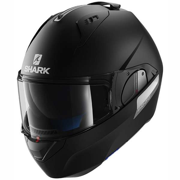 Shark Evo One 2 Flip Front Helmet KMA - Matt Black