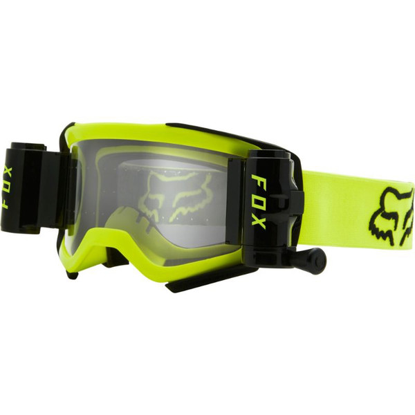 Fox Airspace Stray Roll Off Goggle - Flo Yellow