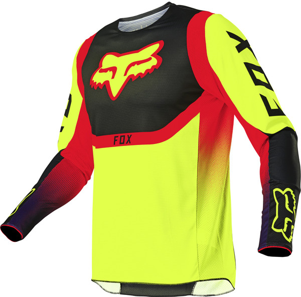 Fox 360 Voke Jersey - Flo Yellow