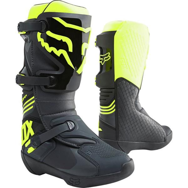 Fox Comp Boot MX21 - Black / Yellow