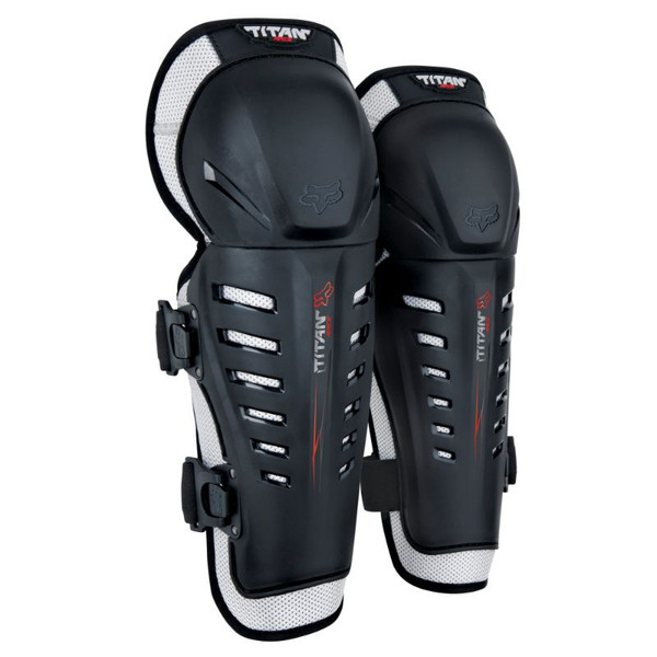 Fox Titan Race Knee / Shin Guard CE - Black