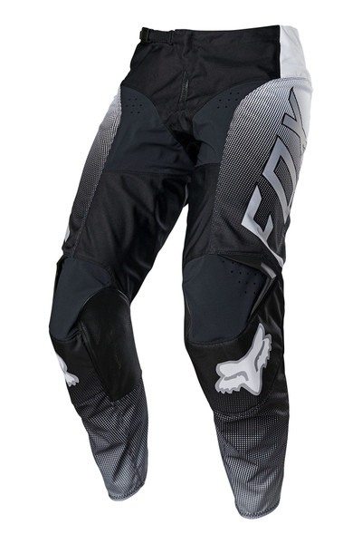 Fox 180 Oktiv Pant - Black / White Front