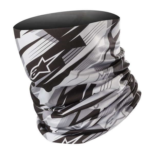 Alpinestars Blurred Neck Tube - Black / Anthracite