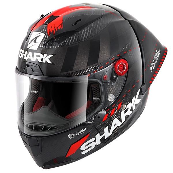 Shark Rr Pro Gp Lorenzo Win Test  Dar - Carbon/Anthracite/Red
