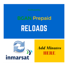 BGAN Prepaid Reloads - Add additional minutes to your BGAN prepaid SIM card