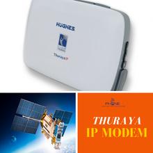 Thuraya IP Modem - Ultra light weight and compact, speeds of up to 444 kbps
