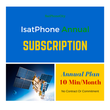 IsatPhone Annual Plan - Prepay for a full year of service