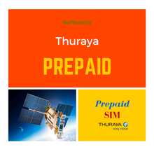 Thuraya Prepay SIM - Low minute rates, reload using scratch cards