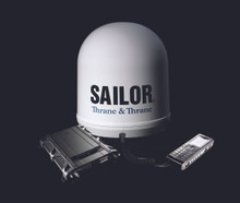 SAILOR 250 FleetBroadband - Data speeds up to 284 kbps & weighs just 5 kg