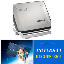 Hughes 9201 BGAN Terminal - IP-compatible & certified for operation on BGAN network