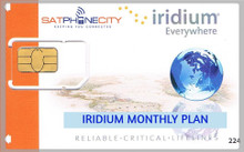 Iridium Monthly Subscription Plan - Includes 10 Minutes per month