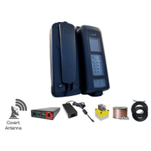IsatDock Marine - IP54 rated, supports Bluetooth, RJ11 / POTS, hands-free speakerphone