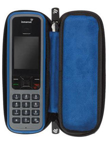 IsatPhone Pro Carry Case - Hard lid zipper case with a soft plush interior