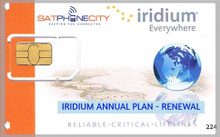 Iridium Annual Plan Renewal - Renew your subscription airtime plan for an additional year