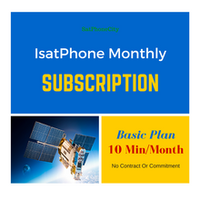 IsatPhone Basic Plan - Monthly airtime plan for IsatPhone