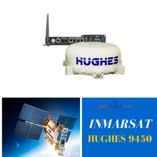 Hughes 9450-C11 BGAN Mobile Satellite Terminal - Speeds of up to 464 kbps
