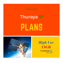 Thuraya IP High Usage Plan - Speeds up to 144Kbps & 15GB per month