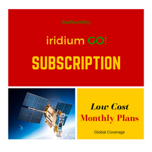 Iridium GO Subscription Plans - Low cost monthly airtime plans