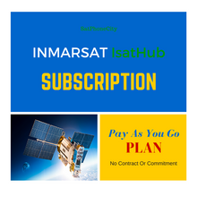 IsatHub Pay As You Go Plan - No Commitment Plan Just Pay As You Go