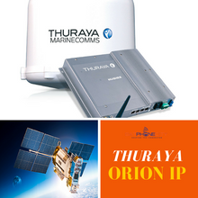 Thuraya Orion IP - Supports broadband data communications at speeds up to 444kbps