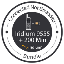 "Iridium ""Connected Not Stranded"" 9555 + 200 Min. Bundle"