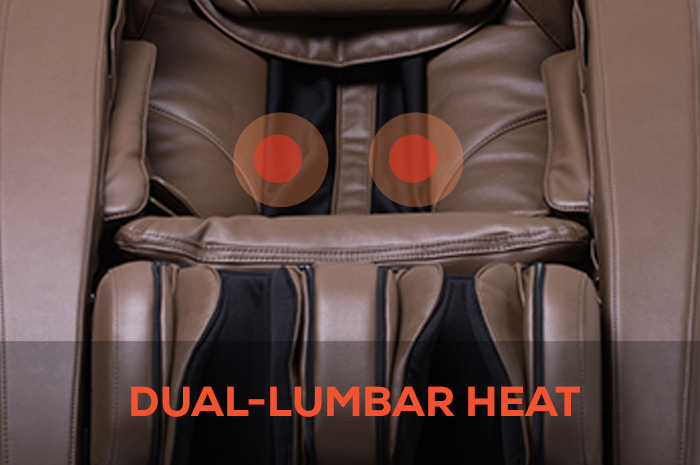 Human Touch Novo XT Massage Chair dual lumbar heat