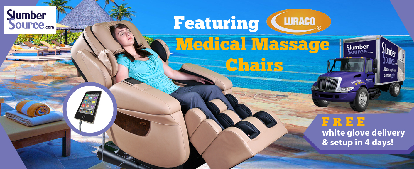 Luraco iRobotics i7 Plus Massage Chair Free Delivery