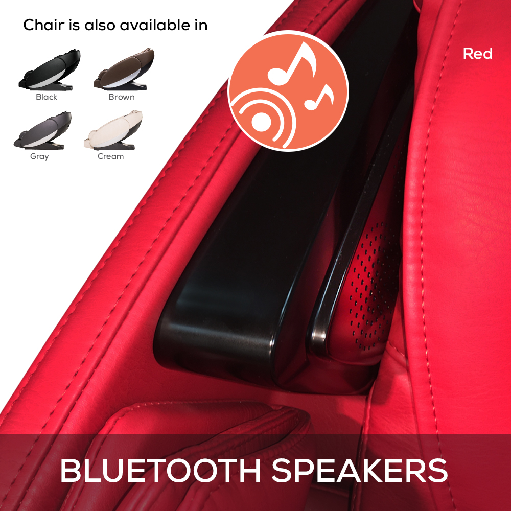 Human Touch Novo XT Massage Chair bluetooth speakers