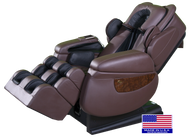 Luraco iRobotics i7 Plus Massage Chair - Free Delivery & Setup - Chocolate, Black, Cream - iRobotics 7