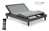 Leggett & Platt S-Cape 2.0 (500 Series) Furniture Style Adjustable Base. Free Delivery & Setup. Queen, Split King