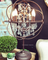 Foucault Iron Orb Chrystal Table Lamp