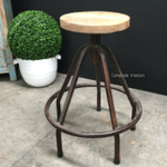 Grace 5 Leg Industrial Stool