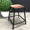 Axis Industrial Low Stool
