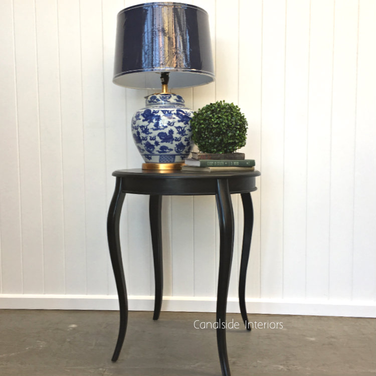 Antoinette Round Side Table Black Sold Out More Coming Soon