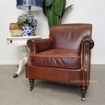 Randall Aged Leather Armchair