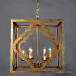 Joffrey Antique Gold Chandelier